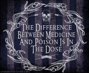 death, drugs, goth, grunge, medicine, needles, poison, quote, quotes ...