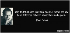 More Paul Celan Quotes
