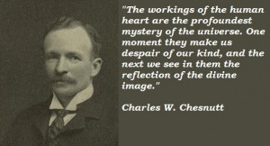 Charles w chesnutt famous quotes 4