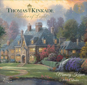 Giveaway - Thomas Kinkade Painter of Light - Memory Keeper 2010 Desk ...