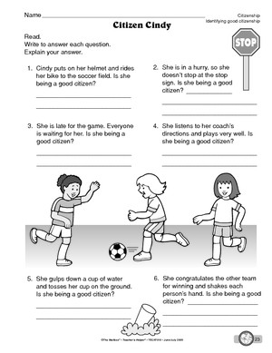 Worksheet Good Citizenship Worksheets being a good citizen worksheet 1st grade intrepidpath citizenship worksheets for first the best and most