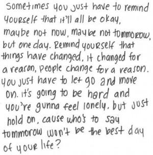 It'll all be okay