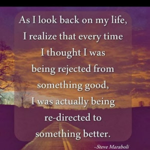 Life Struggle Quotes : As I look back on my life, I realize that every ...