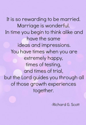 Being married - growth & experience