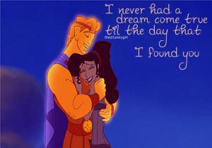 disney # hercules # hercules and meg # love # meg # megara # quote ...