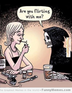 Funny memes – [Are you flirting with me]