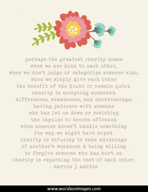 Inspirational Quotes Charity