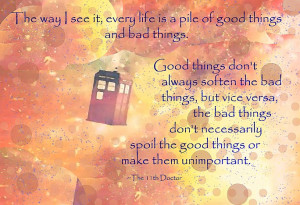 Related Pictures 11th doctor quotes