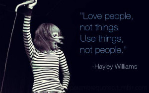 Paramore Quotes Paramore