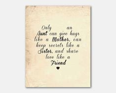 Inspirational Quotes For Aunts And Uncles ~ Aunt and uncle = My best ...