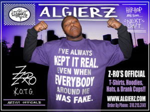 Always Kept It Real (red) Z-Ro T-Shirt