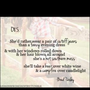 Brad Paisley :)
