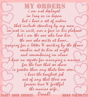 Image Detail for - Marine wife sayings or quotes image by ...
