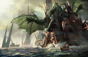 The Art of HP Lovecraft's Cthulhu Mythos (2006)(Michael Komarck) Image