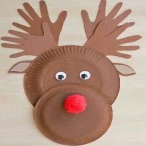 Reindeer christmas craft: Rudolph Crafts, Kids Christmas, Plates ...