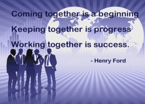 Inspirational Quotes Working Together