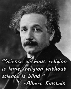 ... universe. Doing so would be, well, unscientific. As Einstein wrote
