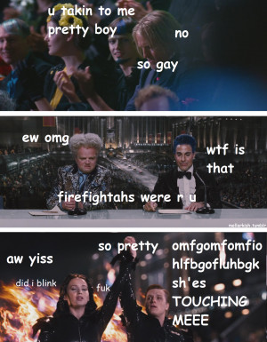 LOL The Hunger Games THG katniss everdeen jennifer lawrence Josh ...