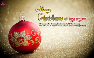 Merry Xmas Greetings Quotes Card Happy Holidays Wishes New Year ...