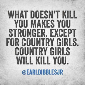 Country girls...