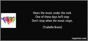 Rock Music Quotes