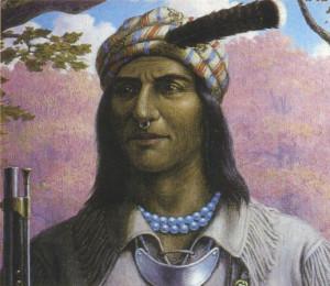 Shawnee Prophet Tecumseh Paintings and Images
