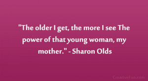 sharon olds quote