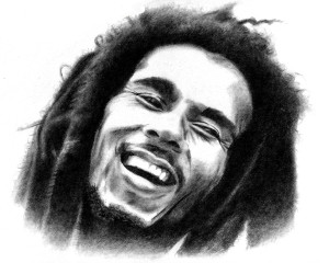 Bob Marley Zitate (Quotes), Drucken, E-Mail.