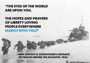The Normandy Invasion began on the morning of June 6, 1944. (Photo ...