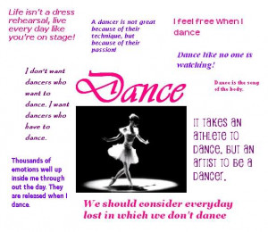Funny Dance Quotes Definition