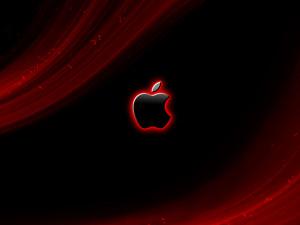 Shining Red Apple