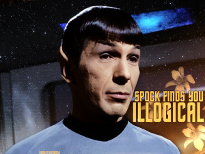 Spock Finds You Illogical by densethemoose