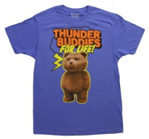 Ted-Thunder Buddies for Life! #men #ted #movies #thunderbuddies #funny ...