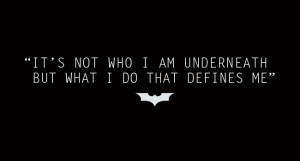 Vinyl decal quote Batman quote the night is darkest by vinylmagic, $12 ...