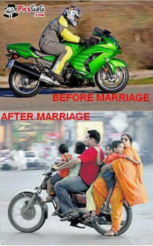 After marriage and before marriage funny picture of indian man which ...