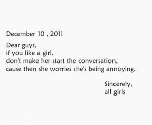 Girl Quotes About Boys Tumblr