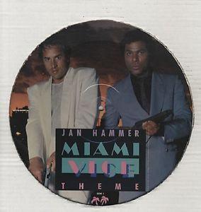 Jan Hammer Miami Vice Theme 12 Single Picture Disc NEW SEALED GLEN
