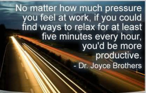 No Matter How Much Pressure You Feel At Work
