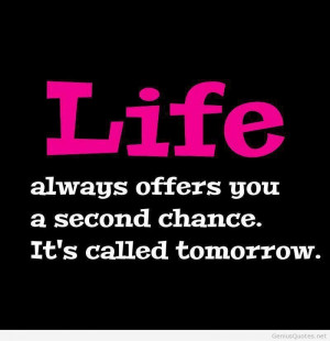 quote new second chance quote second chance second chance quote second ...