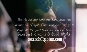... to my sweet free quotes good night cachedmar good night