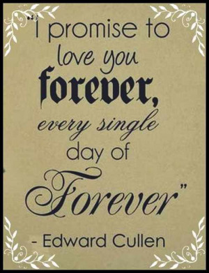 promise to love you forever quotes
