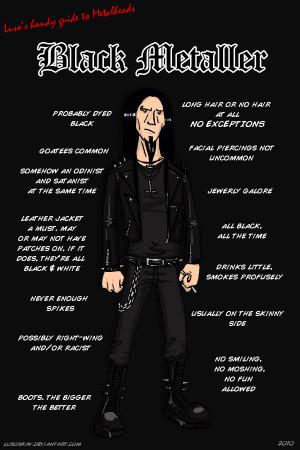Metalhead stereotypes
