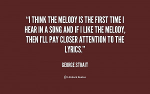 George Strait Song Lyric Quotes