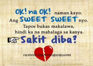 Quotes About Love Tagalog Sad sad love quotes that make you