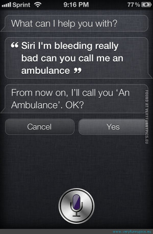Funny Pictures | quotes | Siri fail