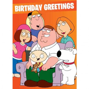 wrap family guy cards family guy happy birthday greeting card