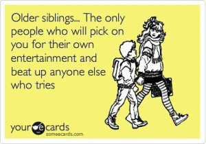 nutty younger siblings