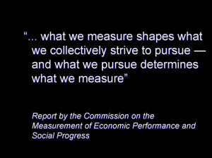 Slide - Measuring what we do or doing what we measure: challenges for ...