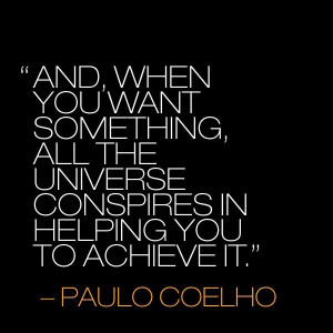 the alchemist quotes, deep, wise, sayings, universe