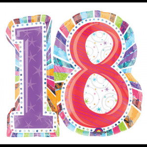 That's right, folks. I'm finally 18 freakin years old!! Can you ...